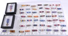 Over 50 Military Ribbons