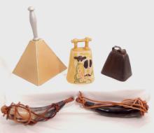 Vintage Cow Bells & Powder Horns