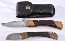 Schrade Folding Knife w/ Sheath Plus