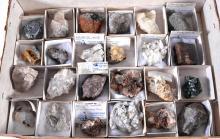 24 Rock & Mineral Specimens