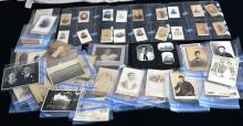 Large Collection Unframed Vintage Photographs Plus