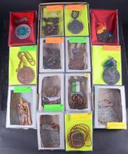 Twenty-six 1980s German Hiking Medals