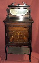 Vintage Music Cabinet w/Mirror