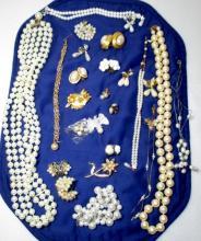 Vintage Pearl Costume Jewelry