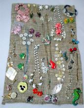 Vintage Springtime Costume Jewelry