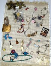 Vintage Whimsical Costume Jewelry Lot