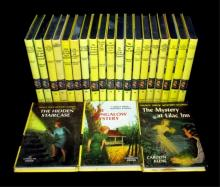 Nancy Drew Mystery Book Collection