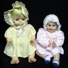 Two Vintage Baby Dolls
