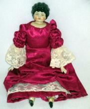 Vintage Frozen Charlotte Doll