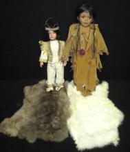 Two Indian Dolls