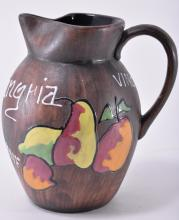 Handmade Sangria Wine Pitcher