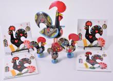 Vintage Portuguese Ceramic Roosters & Tiles