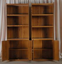 Two Open Bookcase/Displays