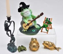 Collection 5 Frogs
