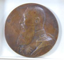 Medallion Leopold II Anniversary of Independence