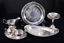 Sterling & Plated Serving Pieces