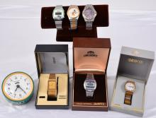 Russian Alarm Clock And Mens Watches