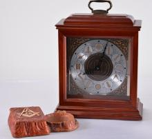 Battery Operated Masonic Clock & Masonic Ashtray