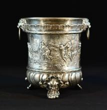 Continental Silver Wine Cooler