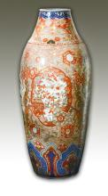 Massive Japanese Porcelain Floor Vase