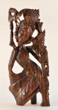 Beautiful Southeast Asia Bali Exotic Wood Dancer