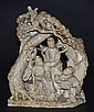Chinese Soapstone Figural Group
