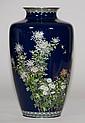 Large Japanese Cloisonne Vase by Ando Jubei