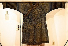 Chinese Summer Silk Brocade Dragon Robe
