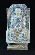Chinese Blue White Porcelain Figurine