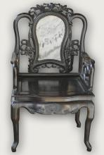 Chinese Rosewood Chair of Shanghai Style