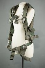 A United States Vietnam period parachute harness dated 1963.