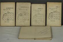 A WWI maps belonging to Lt A.C. Davies M.C 28 London Regiment, some named,