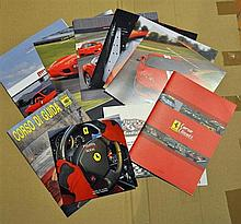 Magazines, brochures and catalogs