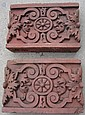 Pair of Terra Cotta Blocks