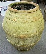 Large Terra Cotta Vessel (Olive Oil)