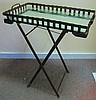 Nice Quality Iron Scissor Base Serving Table