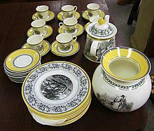 32 Pcs Villeroy & Boch Auden Tea Set