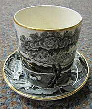 Cup and Saucer Copeland For Tiffany