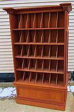 Custom Pigeon Hole Cabinet