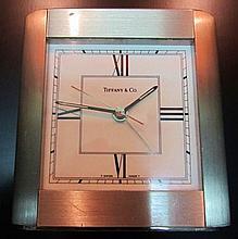 Contemporary Tiffany Travel Clock