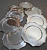 8 Nice Quality Silver Plate Serving Underplates