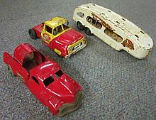 3 Tin Toys