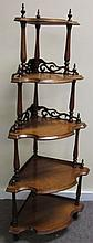 5 Tier Victorian Watnot Shelf