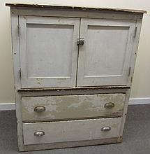 Large White Cupboard
