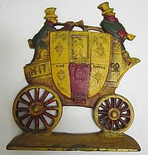 Royal Coach Doorstop