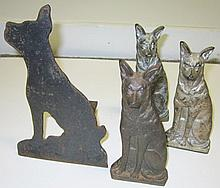4 Pc. Doorstop Lot
