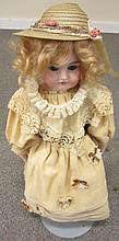 Antique German Doll - 22 1/2