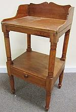 Small 19th Century Pine Country Stand