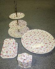 4 Pc. Lot - 3 Tier Stand, ETC.