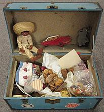 Suit Case Full of Dolls